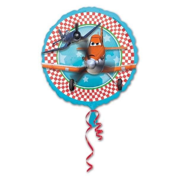 Anagram 18 Inch Circle Foil Balloon - Planes