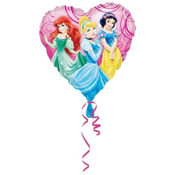 Anagram 18 Inch Circle Foil Balloon - Princess Garden
