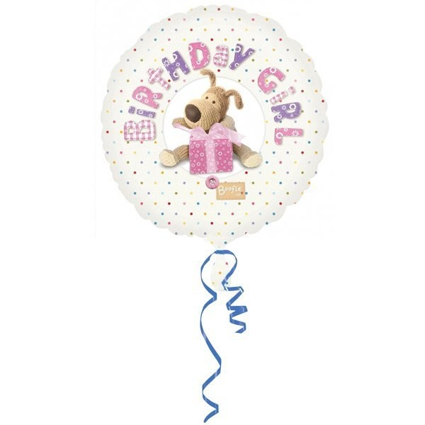 Anagram 18 Inch Foil Balloon - Boofle Birthday Girl