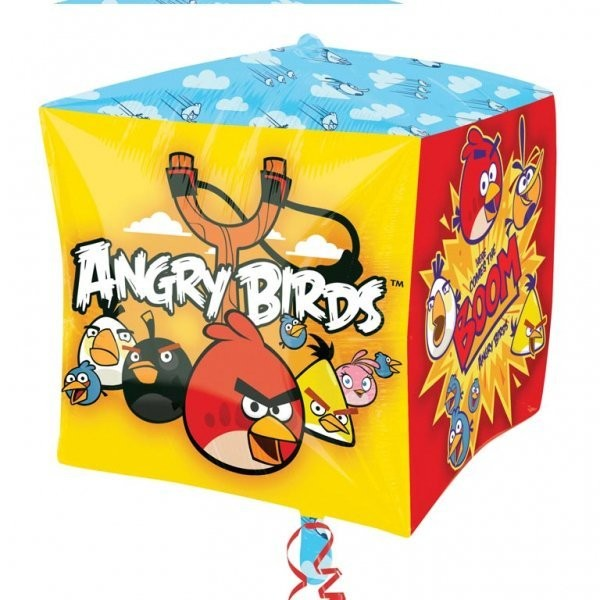 Anagram Supershape Cubez - Angry Birds