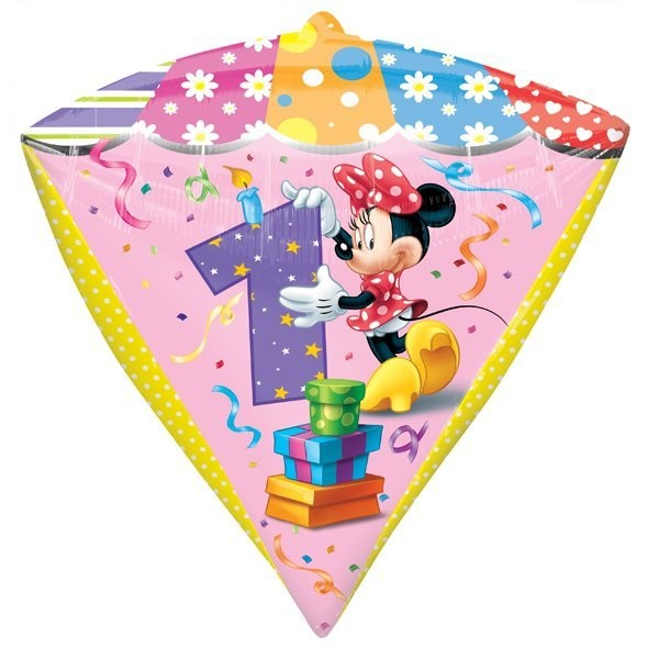 Anagram Supershape Diamondz - Minnie Mouse Age 1