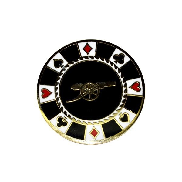 Arsenal Casino Golf Ball Marker