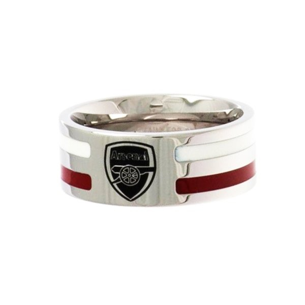 Arsenal Colour Stripe Ring - Medium