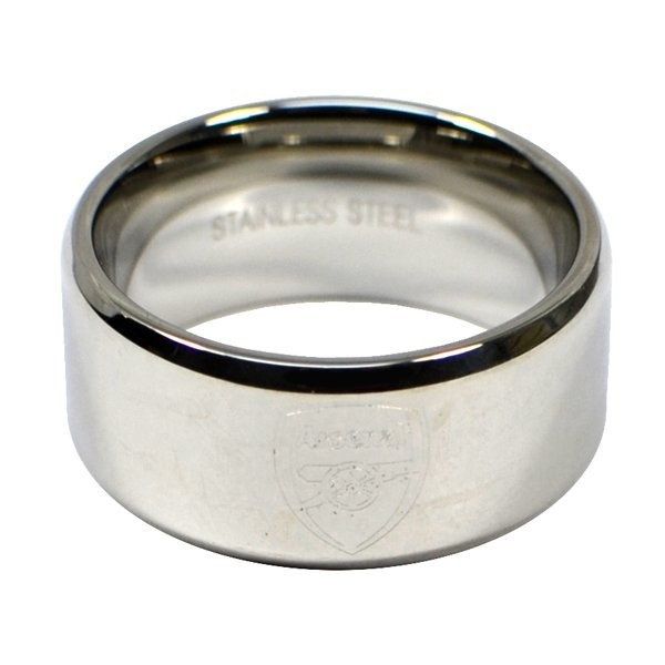Arsenal Crest Band Ring - Large