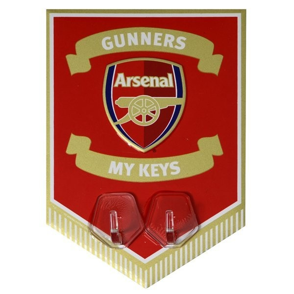 Arsenal Key Hanging Hooks Pennant