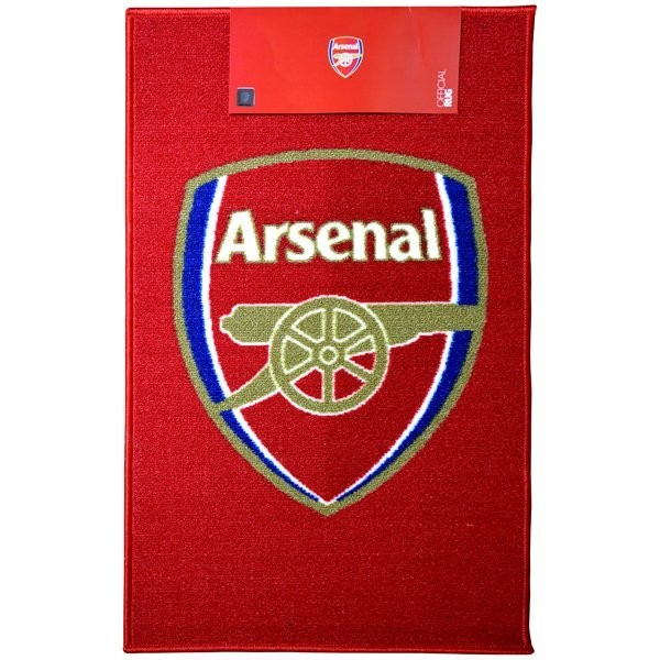 Arsenal Printed Crest Rug