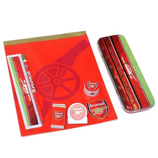 Arsenal Tin Stationery Set