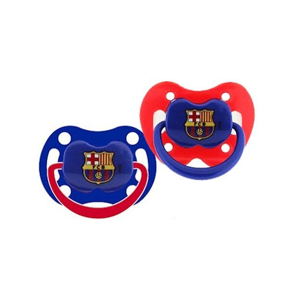 Barcelona 2PK Soothers