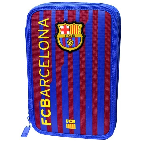 Barcelona 55 PC Double Filled Pencil Case