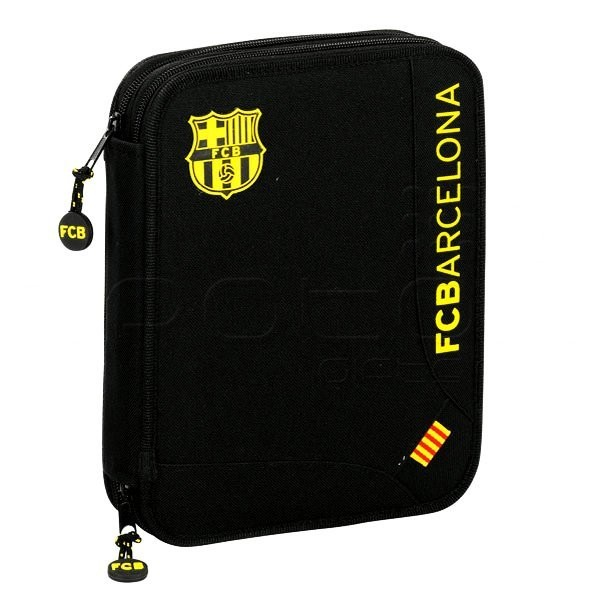 Barcelona 55PC Double Filled Pencil Case
