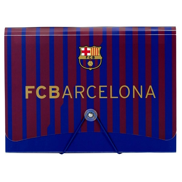 Barcelona A4 PP Expanding File - 12 Tabs