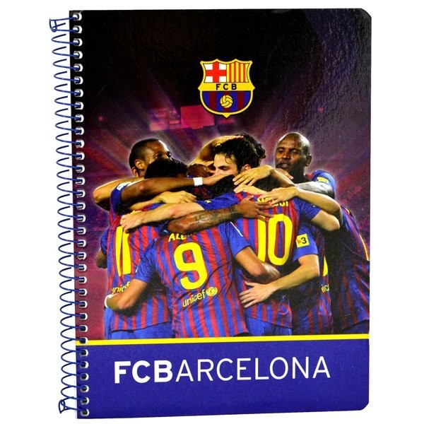 Barcelona A5 Note Book 80 Sheets