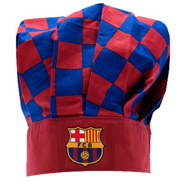 Barcelona Checked Chefs Hat