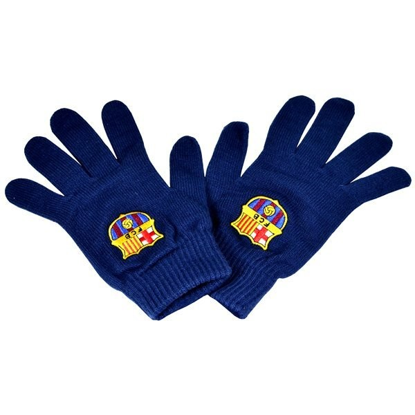 Barcelona Core Knitted Gloves - Navy
