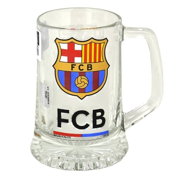 Barcelona Crest Medium Beer Tankard - 1899
