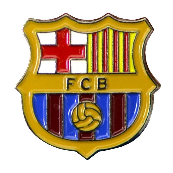 Barcelona Crest Pin Badge