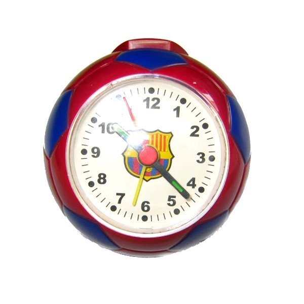 Barcelona Football Clock - Burgundy