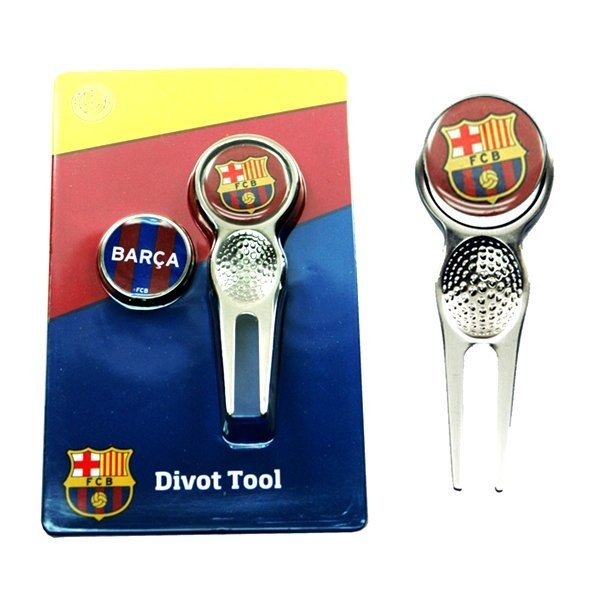 Barcelona Golf Divot Tool & Ball Markers