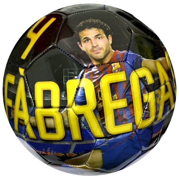 Barcelona Player Fabregas Football - Size 5