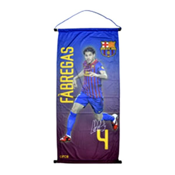 Barcelona Player Large Pennant - Fabregas