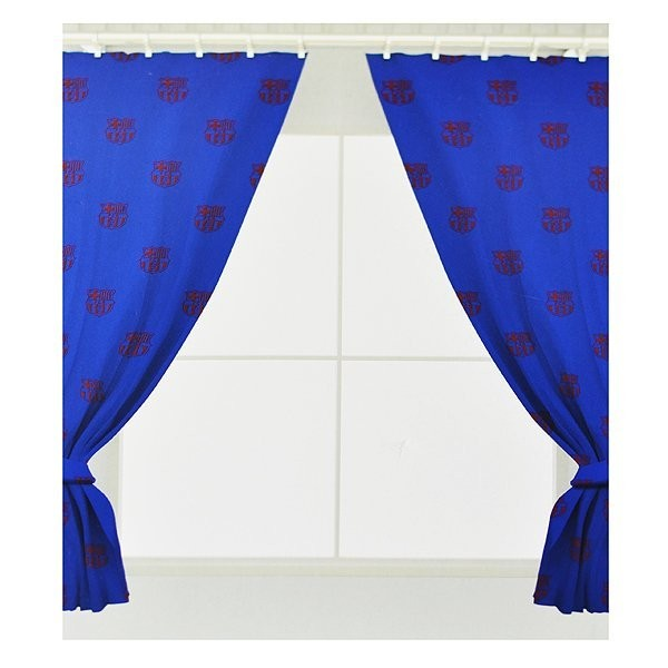 Barcelona Repeat Crest Curtains - 72 Inch