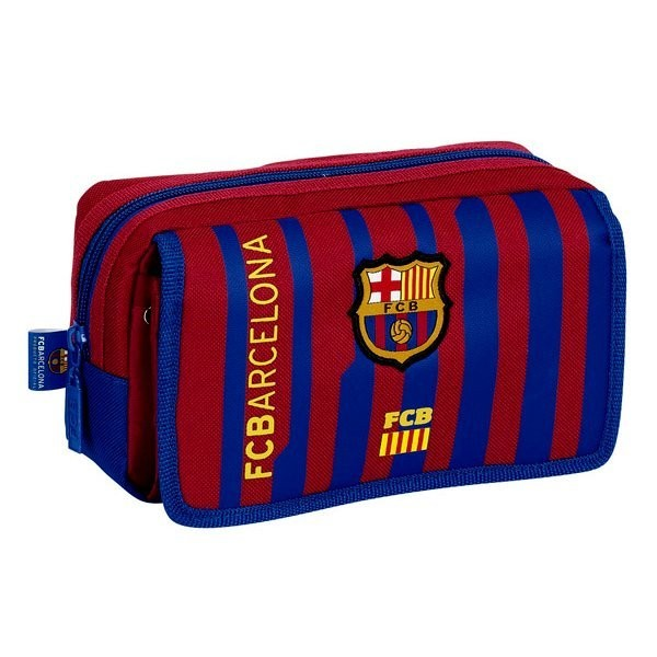 Barcelona Twin Pocket Pencil Case with Flap
