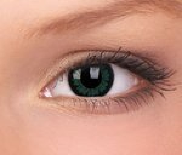 ColourVUE Party Green Big Eye Coloured Contact Lenses