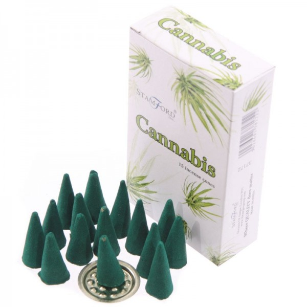 Cannabis Stamford Incense Cones