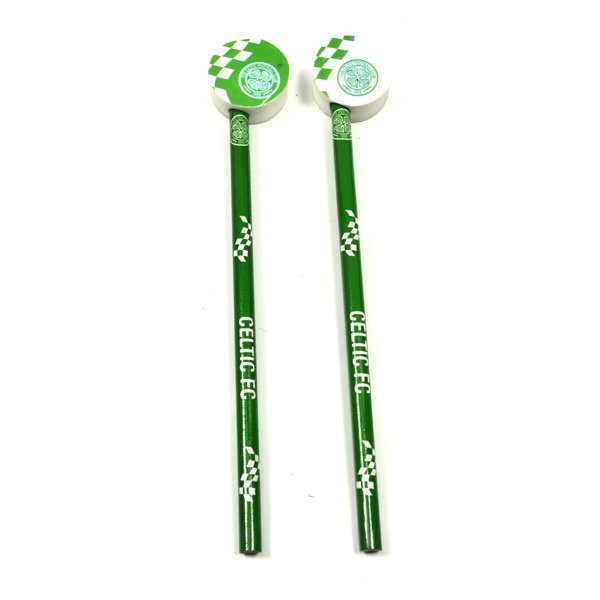 Celtic Checked 2PK Pencil & Topper Set