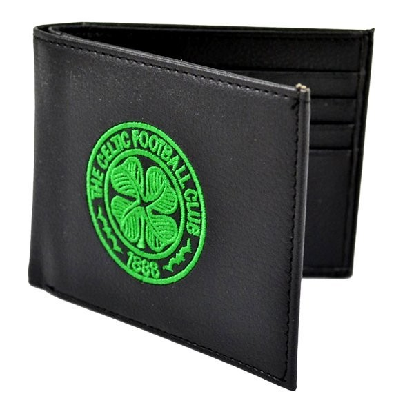 Celtic Crest Embroidered PU Leather Wallet