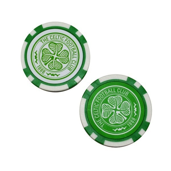 Celtic Poker Golf Ball Marker - 2PK