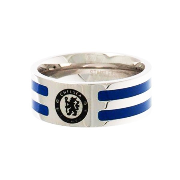 Chelsea Colour Stripe Ring - Medium