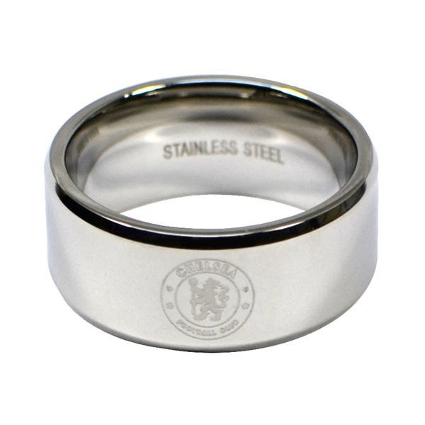 Chelsea Crest Band Ring - Large