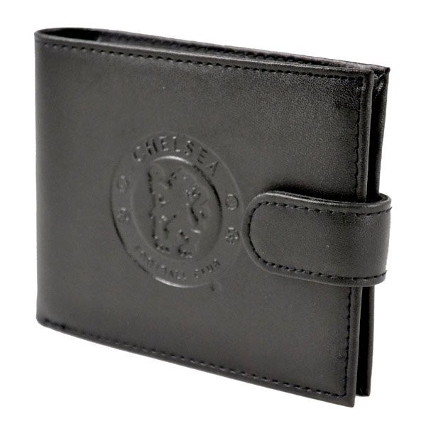 Chelsea Crest Embossed Leather Wallet