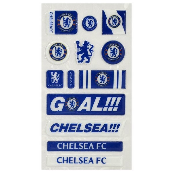 Chelsea Fun Bubble Sticker Set