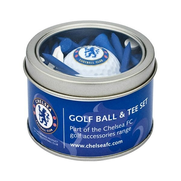 Chelsea Golf Ball & Tee Set