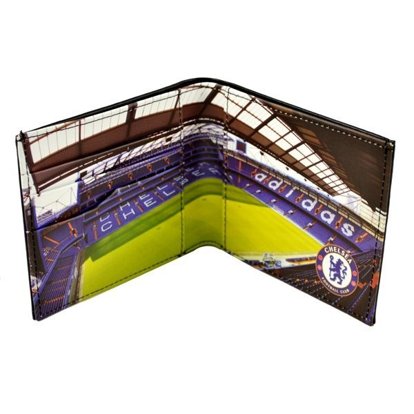 Chelsea Stadium Leather Wallet