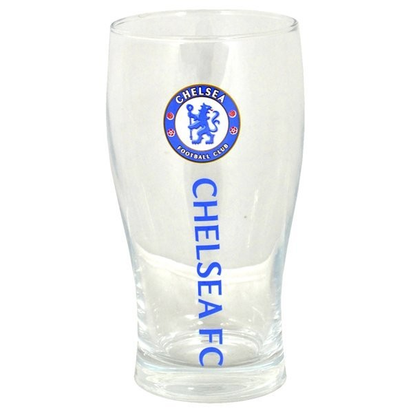 Chelsea Wordmark Crest Pint Glass