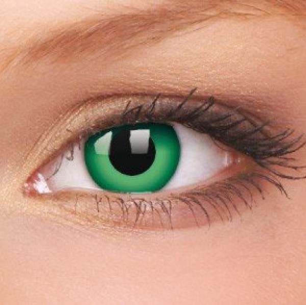 Emerald Crazy Colour Contact Lenses (1 Year Wear)