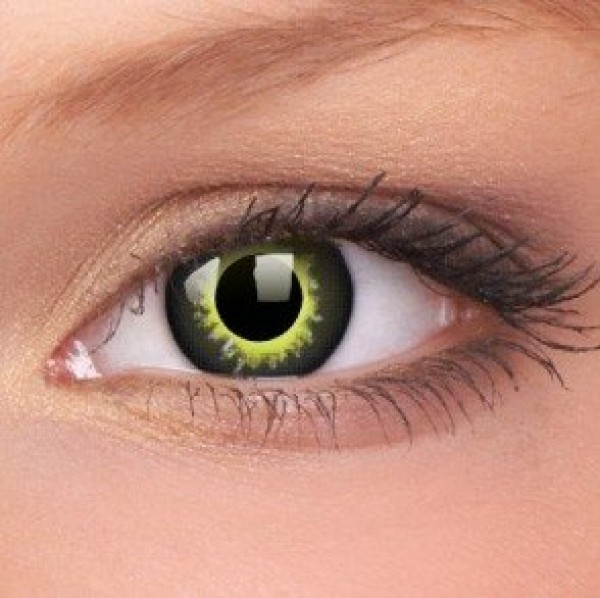 Eclipse Crazy Colour Contact Lenses (1 Year Wear)