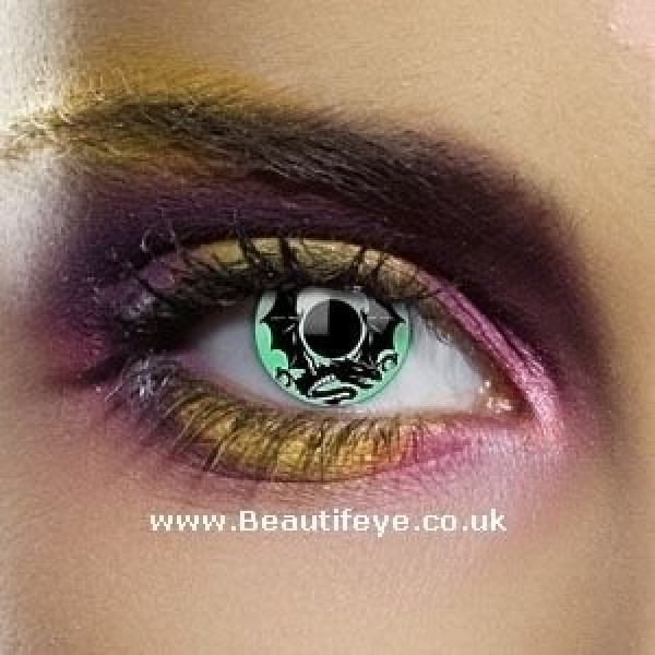 EDIT Alchemy Emerald Dragon Contact Lenses