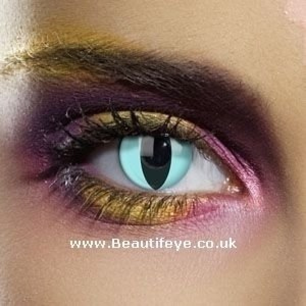 EDIT Colour Vision Aqua Cat Contact Lenses