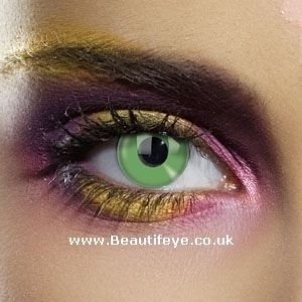 EDIT Colour Vision Emerald Green Contact Lenses