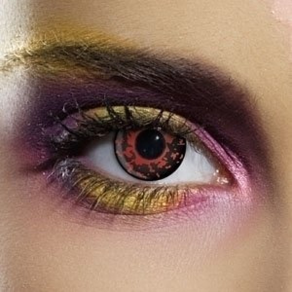 EDIT Crazy Lava Contact Lenses