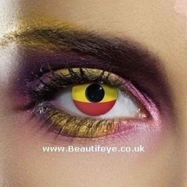 EDIT Flag Spain Contact Lenses