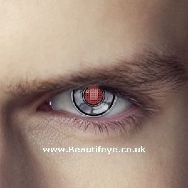 EDIT Terminator Robot Eye Contact Lenses