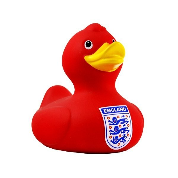 England Bath Time Duck - Red