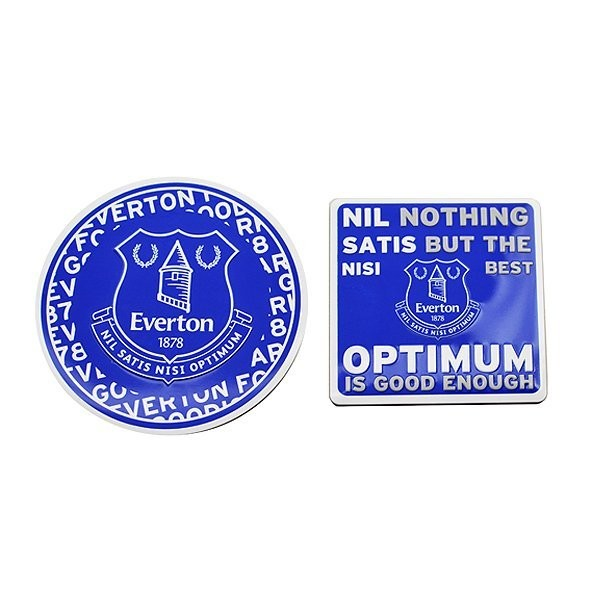 Everton 2PK Multi Surface Metal Sign
