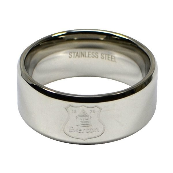 Everton Crest Band Ring - Large