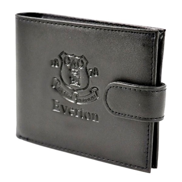 Everton Crest Embossed Leather Wallet